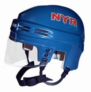 New York Rangers Home Authentic Mini Helmet