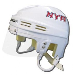 New York Rangers Away Authentic Mini Helmet