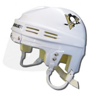Pittsburgh Penguins Away Authentic Mini Helmet