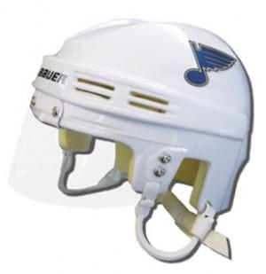 Saint Louis Blues Away Authentic Mini Helmet