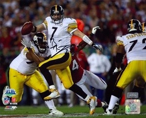 Ben Roethlisberger Autographed 8x10 Photo