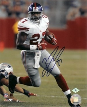 Brandon Jacobs Autographed 8x10 Photo
