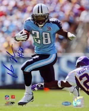Chris Johnson Autographed 8x10 Photo