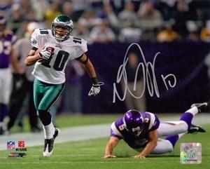 DeSean Jackson Autographed 8x10 Photo