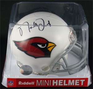 Matt Leinart Autographed Arizona Cardinals Replica Mini Helmet
