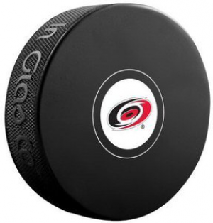 InGlasCo NHL Carolina Hurricanes Autograph Souvenir Ice Hockey Puck