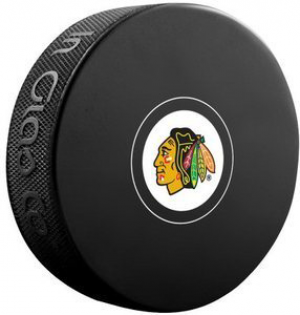 InGlasCo NHL Chicago Blackhawks Autograph Souvenir Ice Hockey Puck