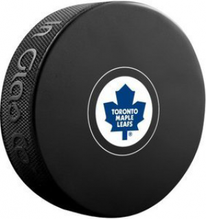 InGlasCo NHL Toronto Maple Leafs Autograph Souvenir Ice Hockey Puck