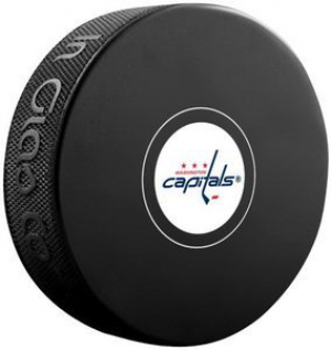InGlasCo NHL Washington Capitals Autograph Souvenir Ice Hockey Puck