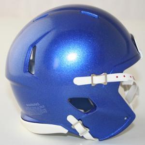 Riddell Memphis Tigers Blue Blank Customizable Speed Mini Football Helmet Shell