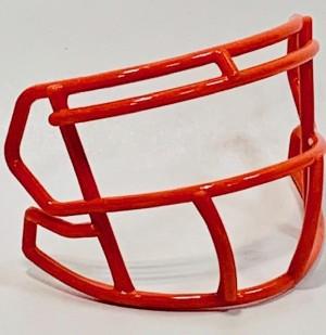 Riddell Burnt Orange Customizable S2BD Speed Mini Football Facemask