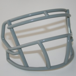 Riddell Light Gray Customizable S2BD Speed Mini Football Facemask