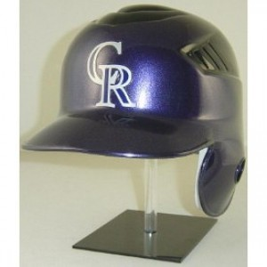 Colorado Rockies Coolflo Authentic Full Size Batting Helmet