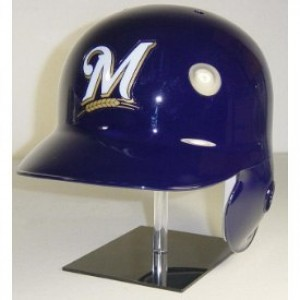 Milwaukee Brewers Classic Authentic Full Size Batting Helmet