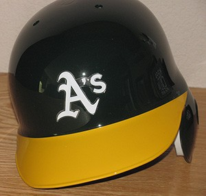 Oakland Athletics Classic Authentic Full Size Batting Helmet