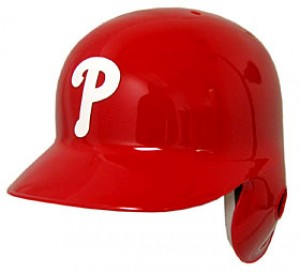 Philadelphia Phillies Classic Authentic Full Size Batting Helmet
