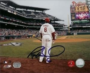 Ryan Howard Signed PhotoFile 8x10 Photo