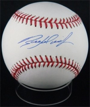 Ryan Ludwick Signed Rawlings Official Major League Baseball