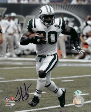 Thomas Jones Autographed 8x10 Photo