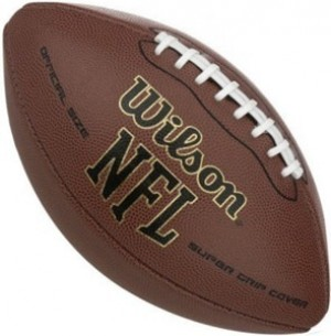 Super Grip NFL Football (Deflated)