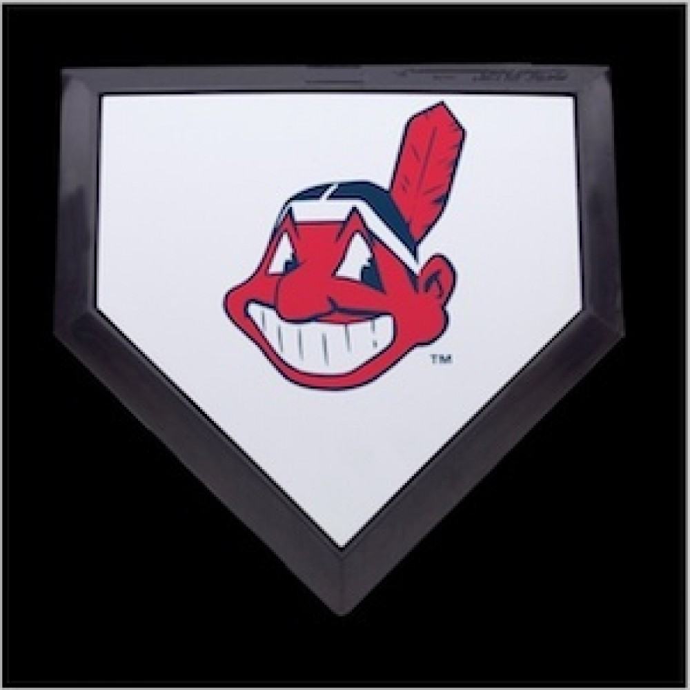 Cleveland Indians Authentic Mini Home Plate