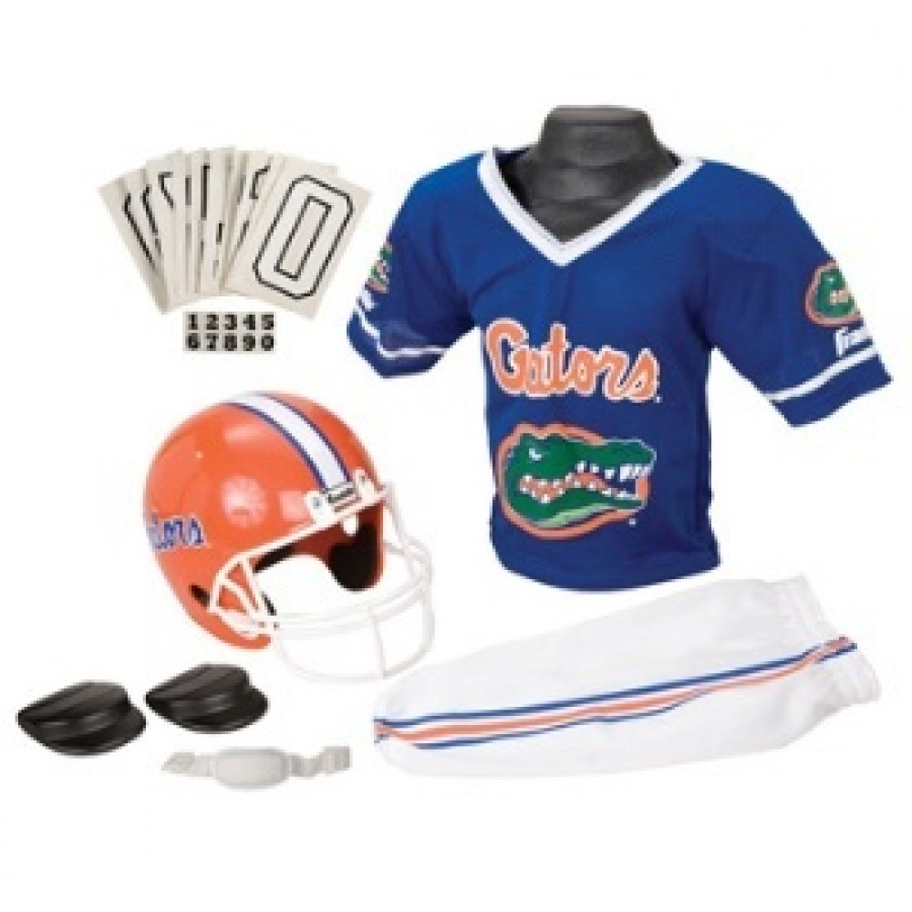 Florida Gators Kids (Ages 7-9) Medium Replica Deluxe Uniform Set