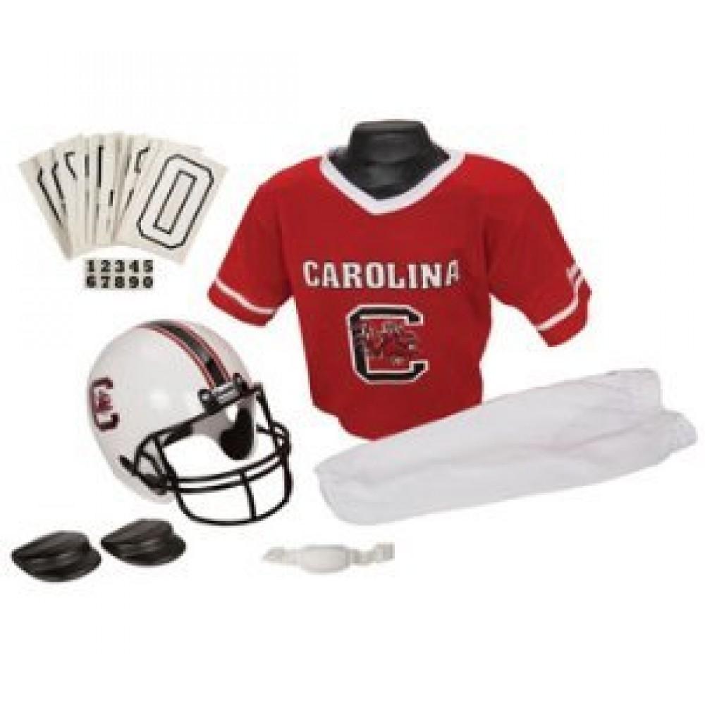 South Carolina Gamecocks Kids (Ages 7-9) Medium Replica Deluxe Uniform Set