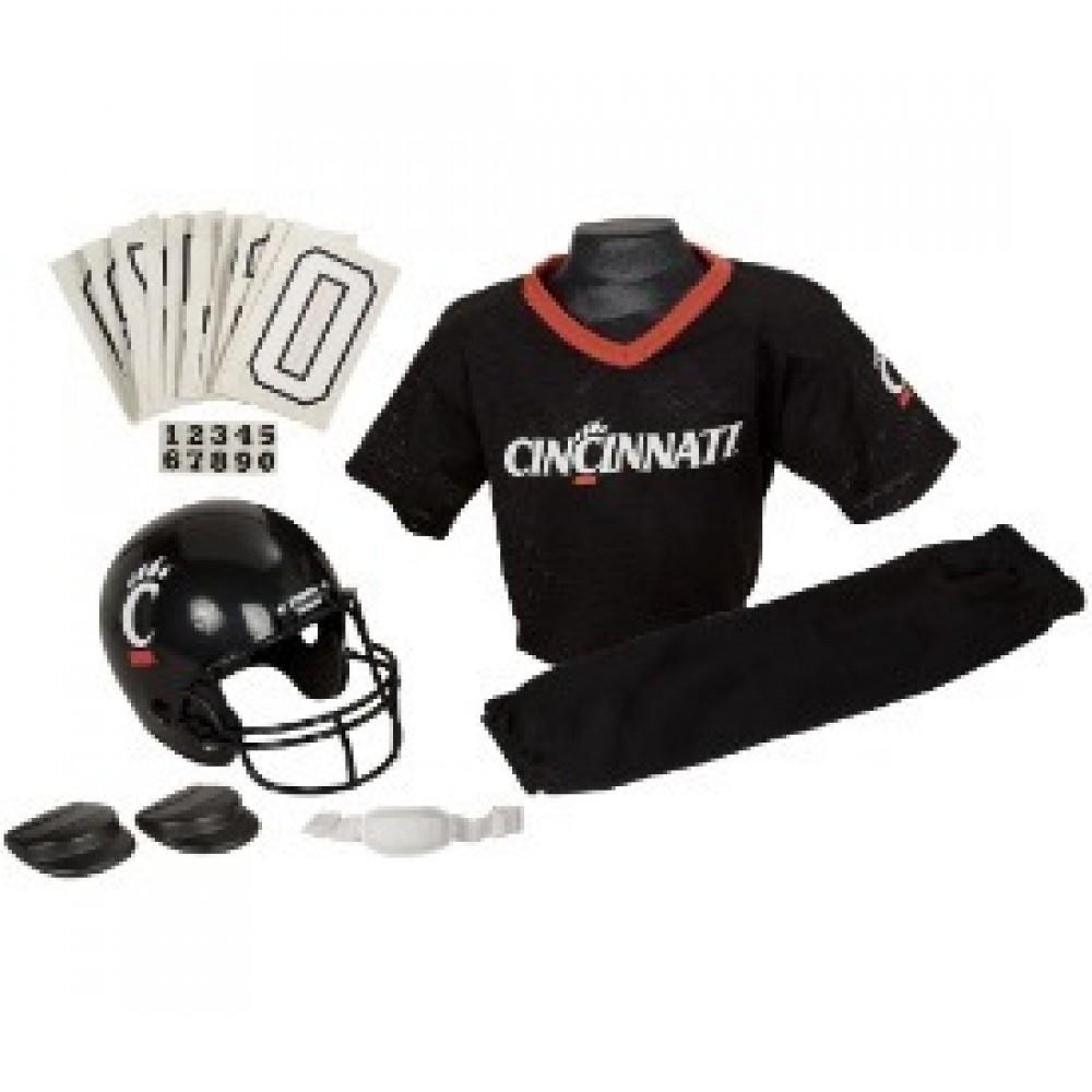 Cincinnati Bearcats Kids (Ages 7-9) Medium Replica Deluxe Uniform Set