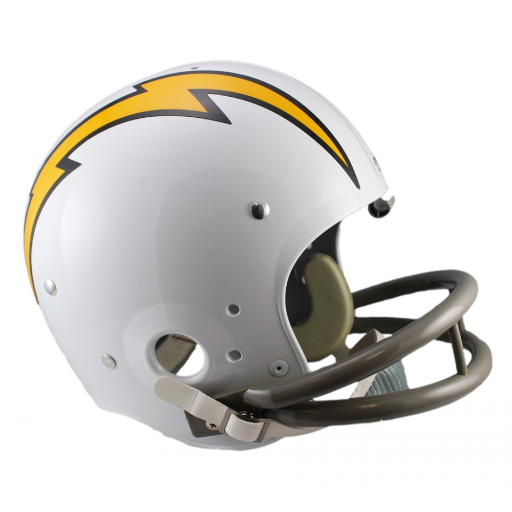 San Diego Chargers Helmets: Riddell NFL San Diego Chargers 1961-1973 Throwback Rep TK