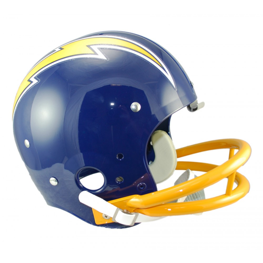 San Diego Chargers Helmet: Riddell NFL San Diego Chargers 1974-1987 Throwback Rep TK