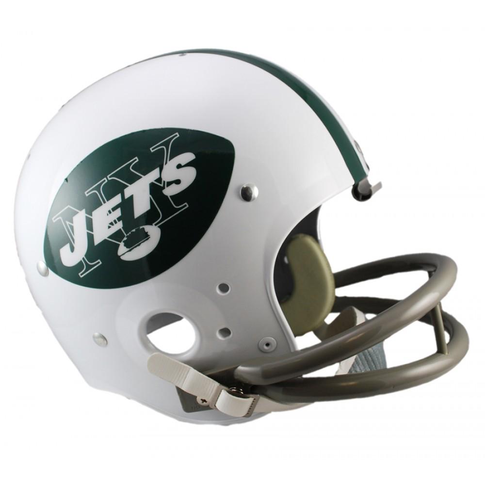 2e87ac5c New York Jets 1965-1977 Throwback Riddell Full Size Replica TK ...