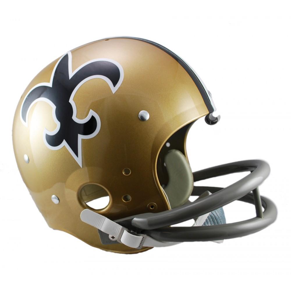 20542340 Riddell NFL New Orleans Saints 1967-1975 Throwback Rep TK Suspension ...