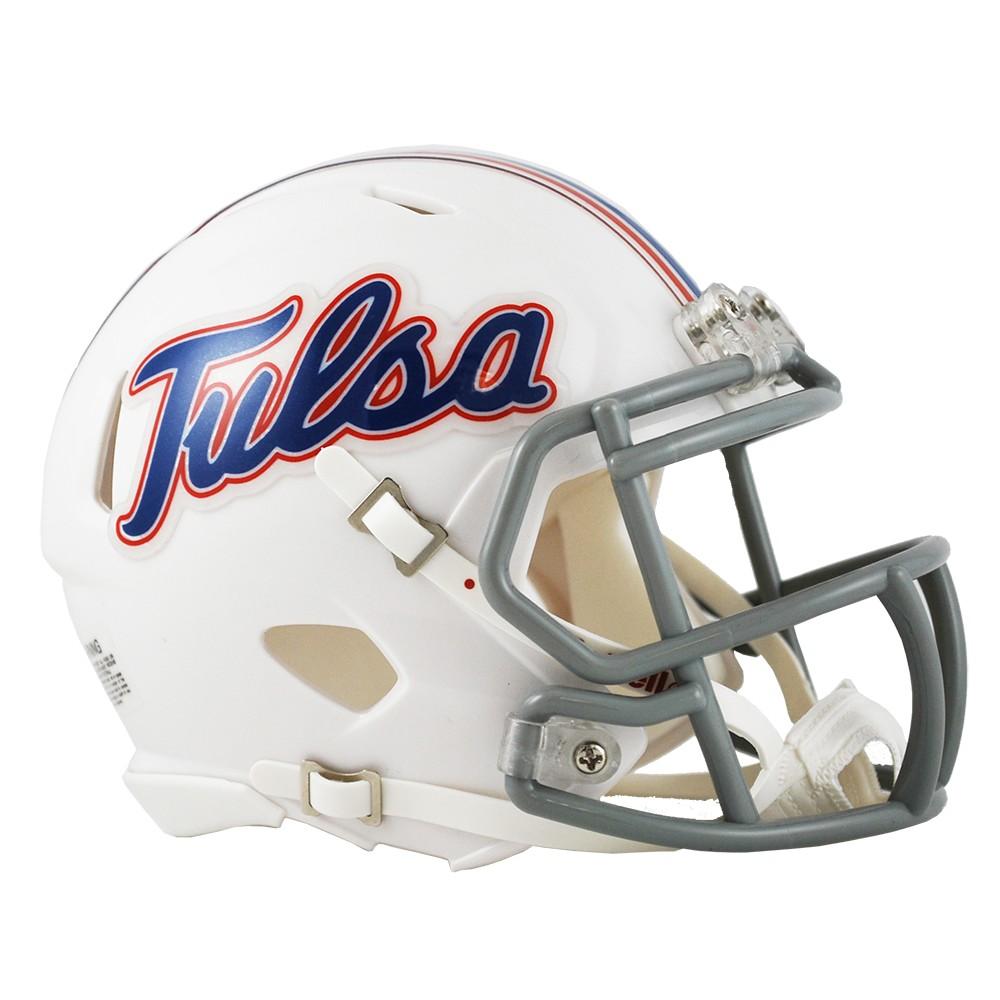Tulsa Golden Hurricane Revolution Speed Mini Helmet