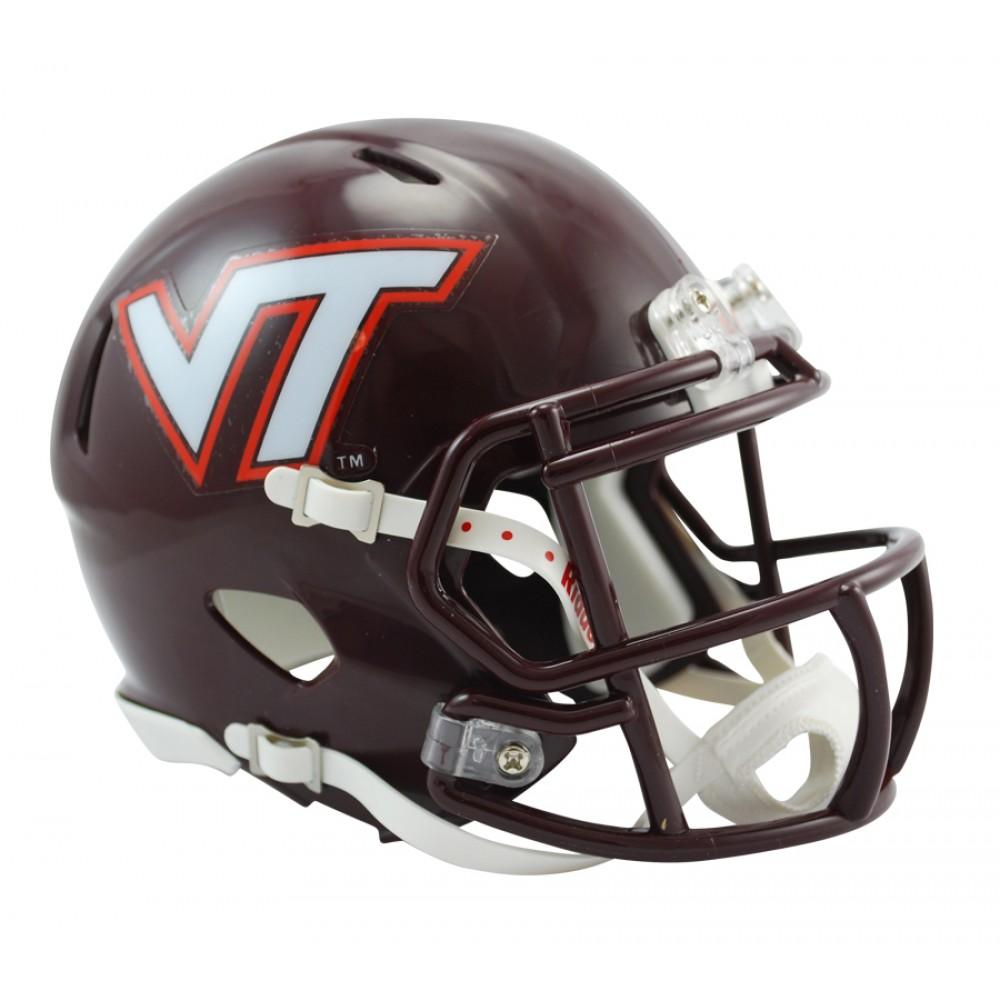 Virginia Tech Hokies Revolution Speed Mini Helmet