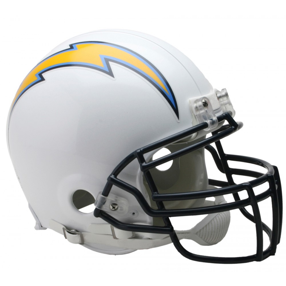 San Diego Chargers Helmet: Riddell NFL San Diego Chargers Authentic Vsr4 Full Size