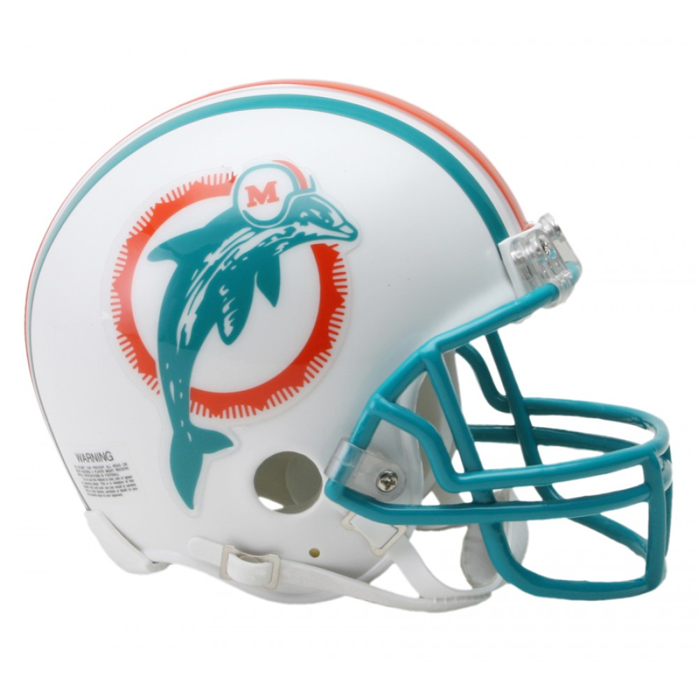 Riddell NFL Miami Dolphins 1980-1996 Throwback Replica ...