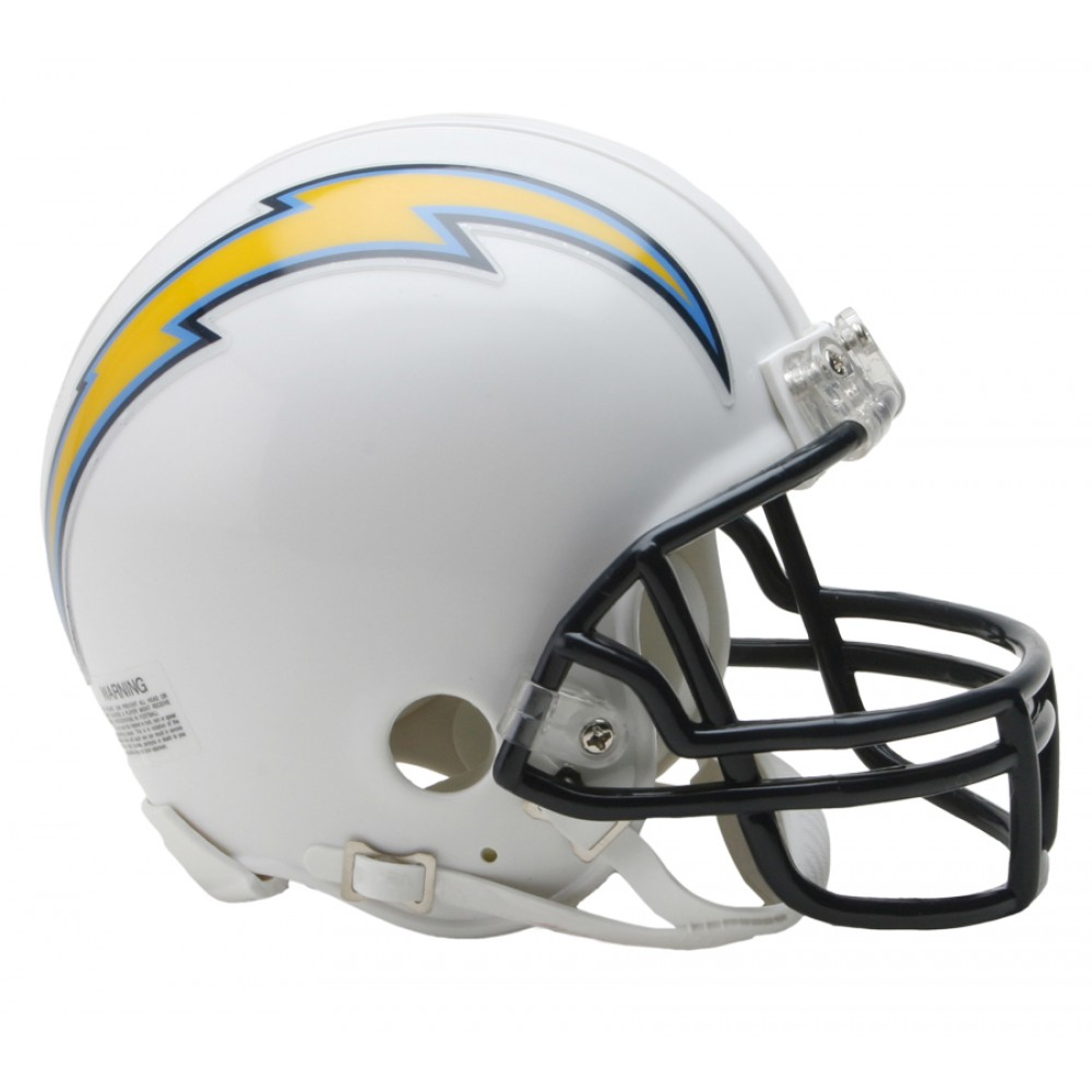 San Diego Chargers Helmets: Riddell NFL San Diego Chargers Replica Vsr4 Mini Football
