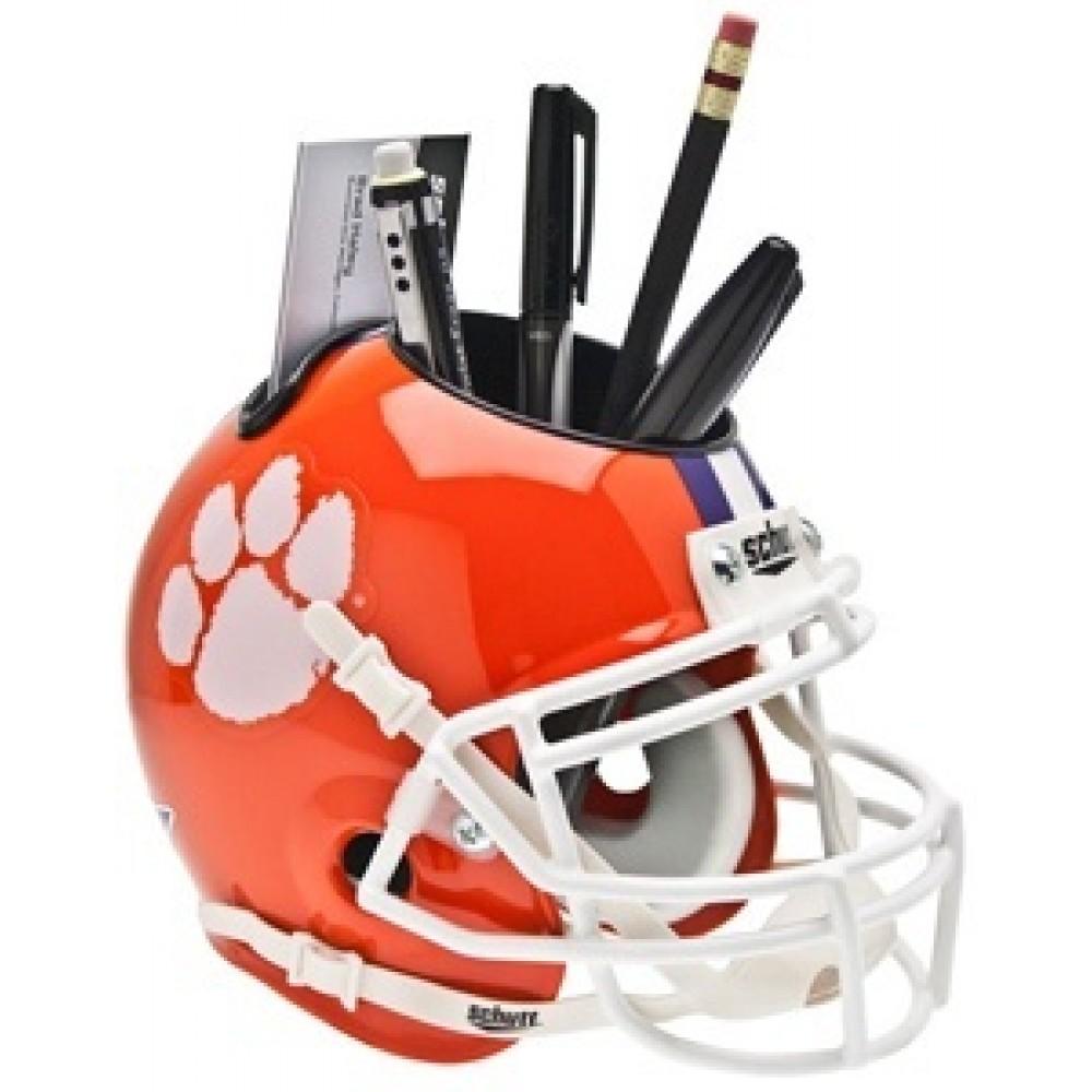 EASTERN WASHINGTON EAGLES NCAA Schutt Mini Football Helmet DESK CADDY