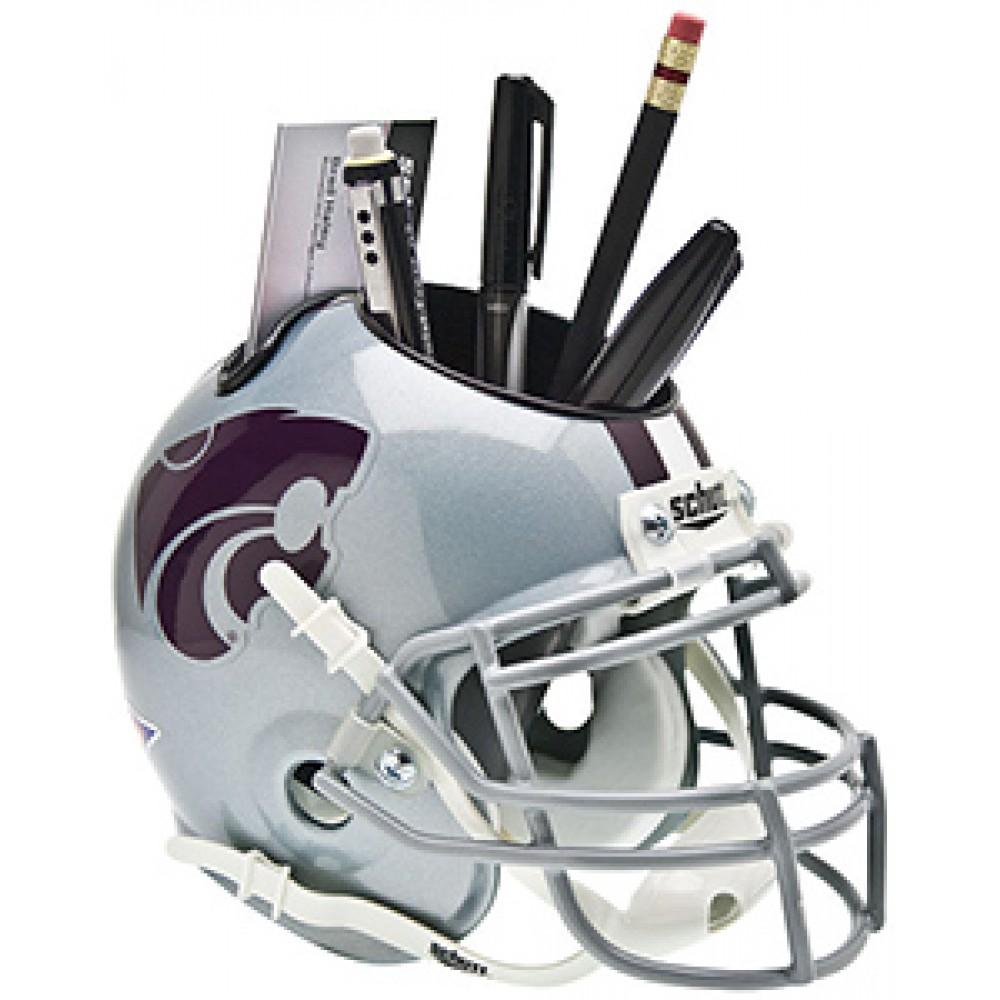 Kansas St Wildcats Authentic Mini Helmet Desk Caddy