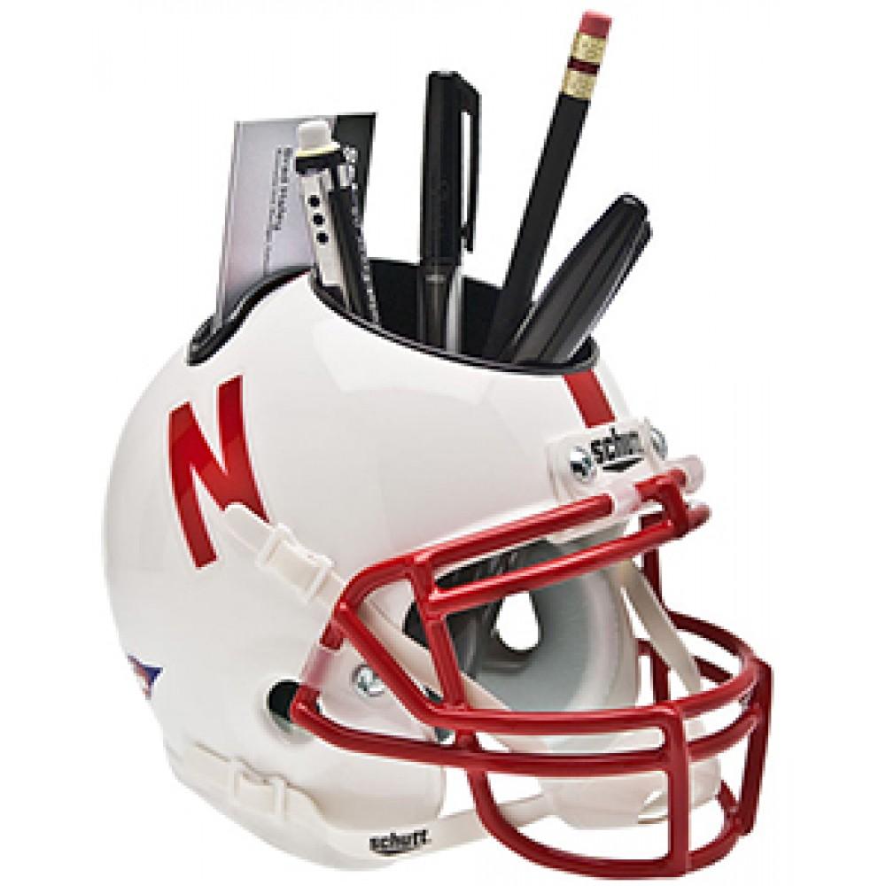 Nebraska Cornhuskers Authentic Mini Helmet Desk Caddy