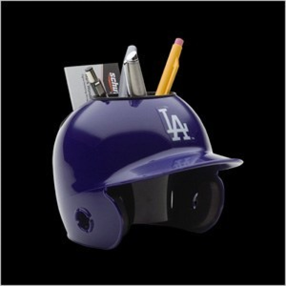 Los Angeles Dodgers Authentic Mini Batting Helmet Desk Caddy