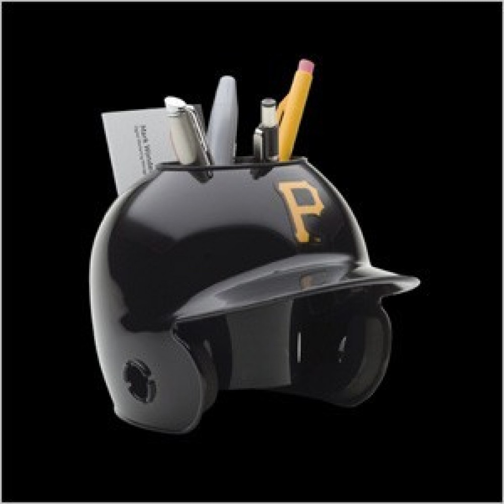 Pittsburgh Pirates Authentic Mini Batting Helmet Desk Caddy