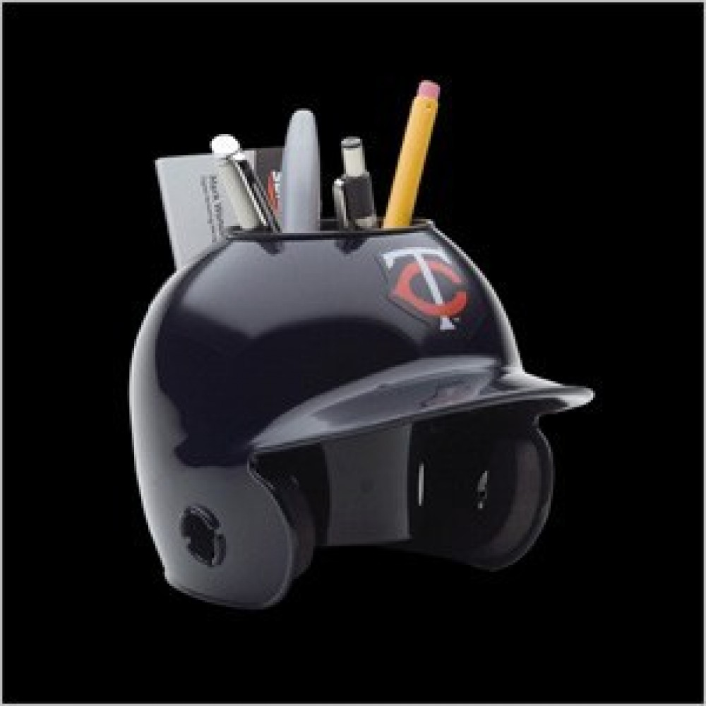 Minnesota Twins Authentic Mini Batting Helmet Desk Caddy