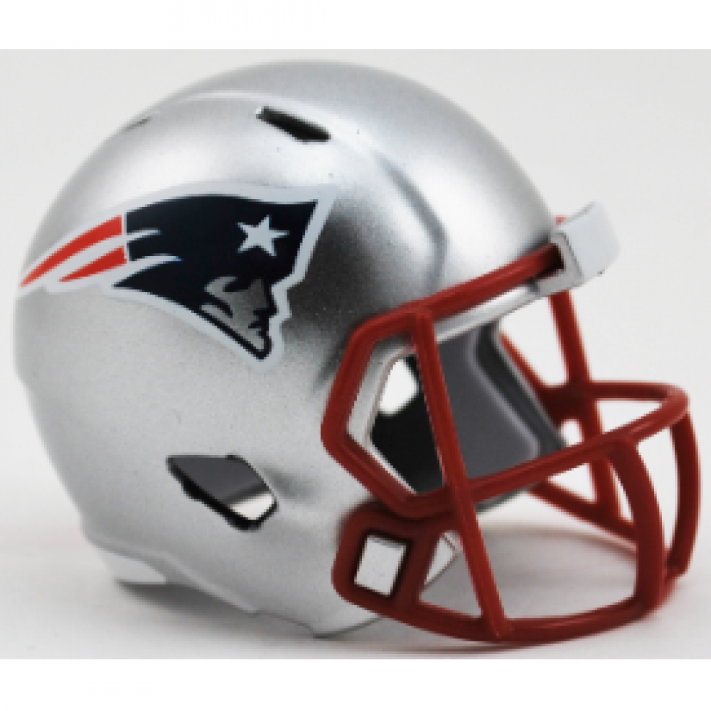 Riddell NFL New England Patriots Revolution Speed Pocket Size Helmet