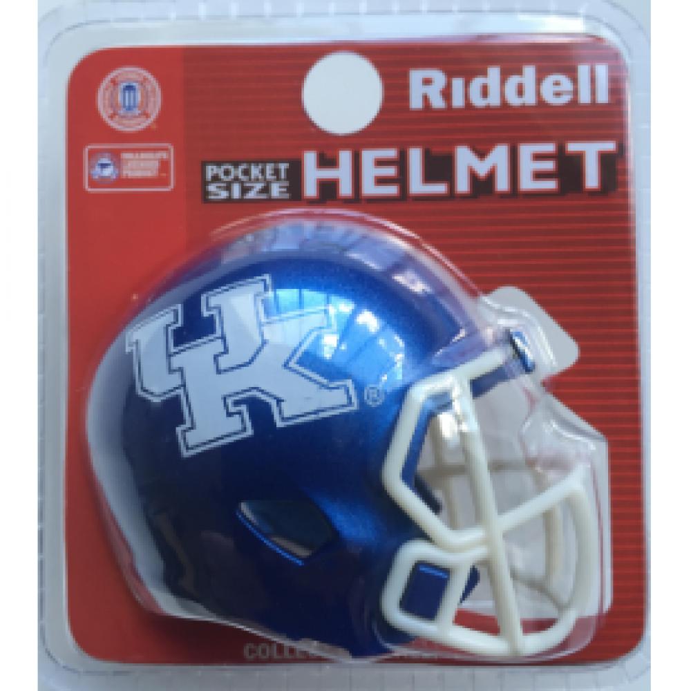 Nashville Sales Tax >> Riddell NCAA Kentucky Wildcats Speed Pocket Size Football Helmet