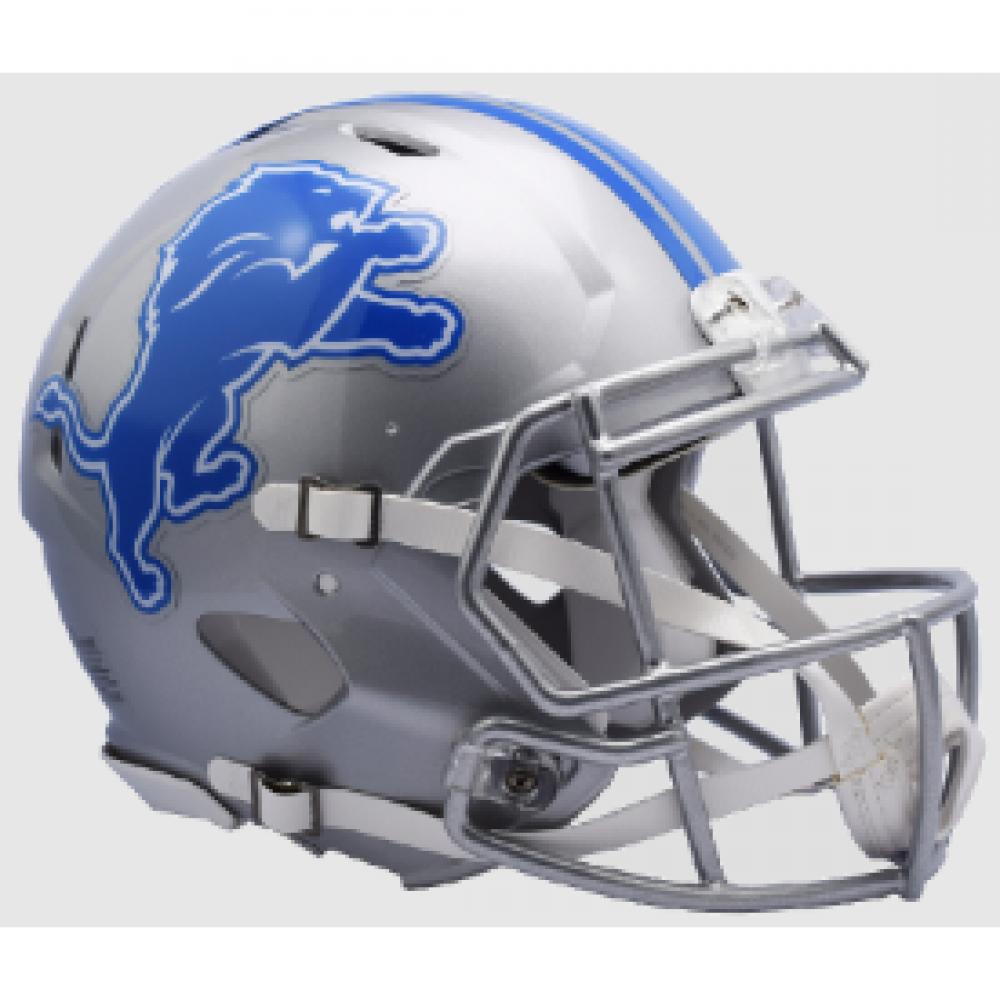 Riddell NFL Detroit Lions 2017 Revolution Speed Authentic Full Size Helmet