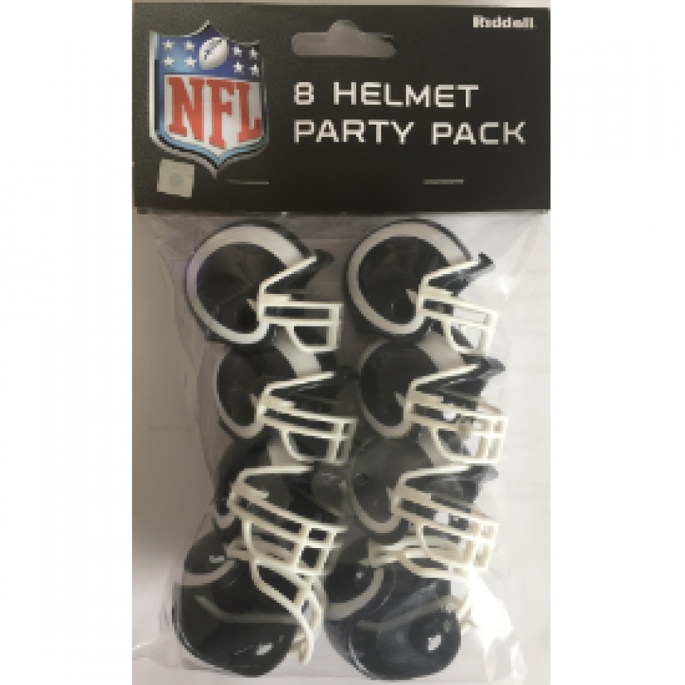 Riddell NFL Los Angeles Rams 2017 VSR4 Replica Gumball Party Pack Helmets 8ct