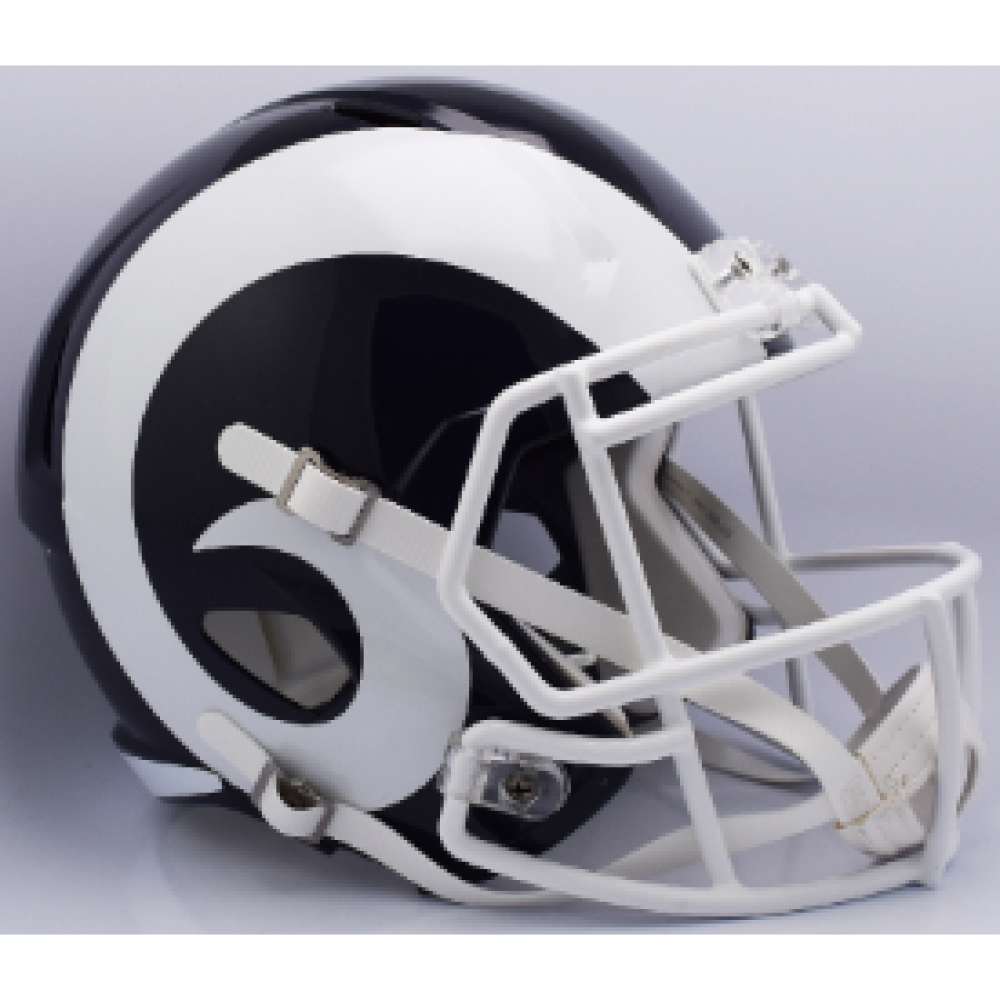Riddell NFL Los Angeles Rams 2017 Revolution Speed Replica Full Size Helmet