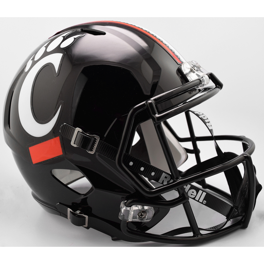 Riddell NCAA Cincinnati Bearcats Replica Speed Full Size Football Helmet