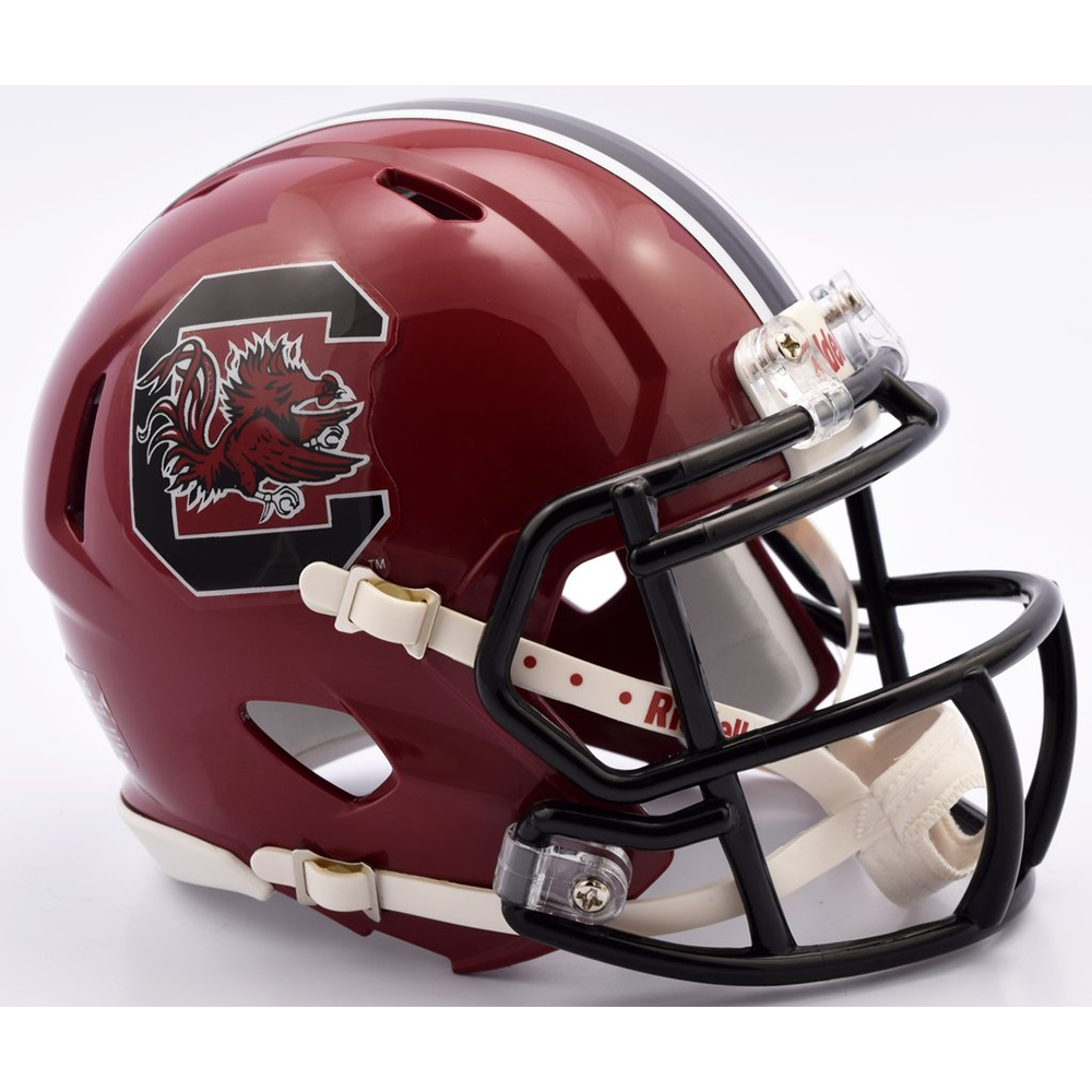 Riddell NCAA South Carolina Gamecocks 2018 Cardinal Speed Pocket Size Football Helmet